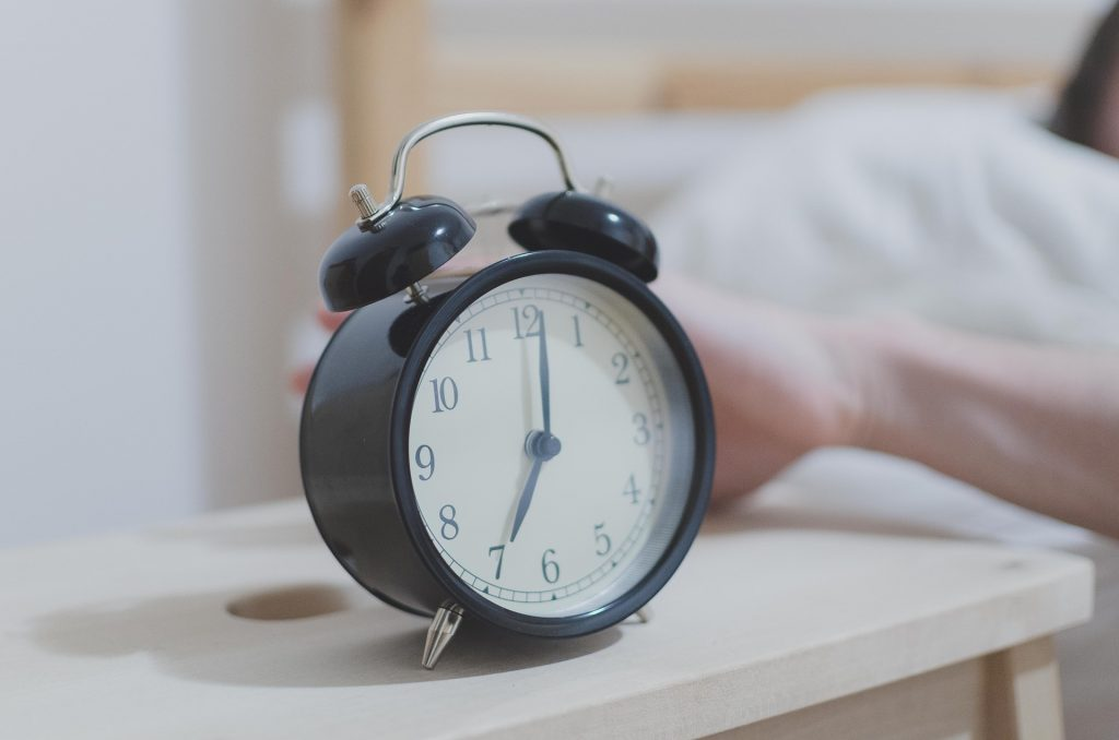 get a good night's sleep alarm clock