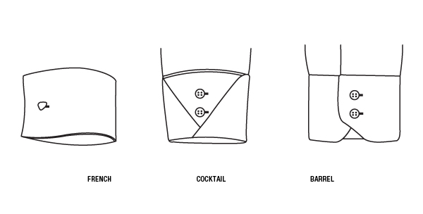 Cuff Types | The Perfect White Shirt