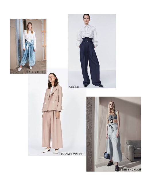 London Fashion Week SS17: Trend #7 Palazzo Pants