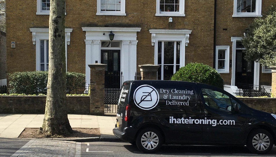 ihateironing delivery van