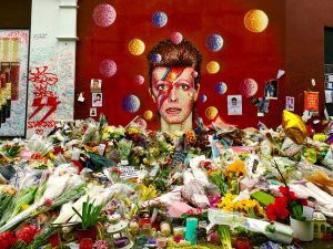 ihateironing David Bowie Memorial Brixton